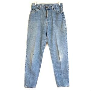 Vintage 80s Lee High Waisted Tapered Leg Mom Jeans